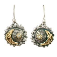 Gear up for the August 21 solar eclipse with out Eclipse Earrings-- featuring 14K gold, sterling silver, and diamonds! (Ask about our matching pendant!) Reflective Jewelry is committed to sustainable, ethical, and fair trade jewelry.  As America's only certified Fairtrade Gold jeweler, we strive to bring you the most ethically-sourced jewelry available. We offer artisan-made, handcrafted, and designer wedding bands and engagement rings.