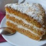 Морковный торт (низкокалорийный)