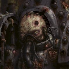 Faces of Heresy: The Death Guard by NickNightshade.deviantart.com on @deviantART