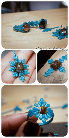 Melanie Casey - Inspiration and Design Blog Jewelry Crafts, Jewelry Art, Jewelry Design, Wax Ring, 3d Printed Jewelry, Lost Wax Casting, Egyptian Jewelry, Jewelry Making Tutorials, Rose Cut Diamond