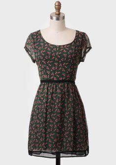 Wendy Floral Sash Belt Dress at #Ruche @Ruche