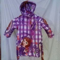 Sofia the First robe size#12-18 months