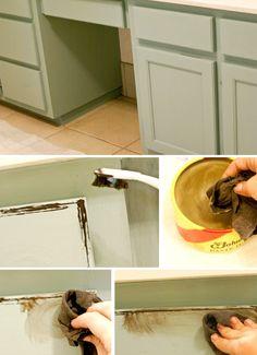 Chalk Paint Cabinets