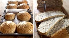 Brød med mye frø. Bodil Nordjore kaller dem meiseboller. Baking, Bakken, Backen, Sweets, Pastries, Roast