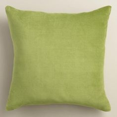 These green pillows are a fun, unexpected detail.