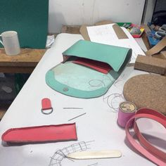 A picture from last weekend s handbag and leather accessories course -with  a very creative bunch 8aec79130d