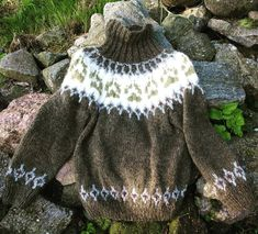 My new wilderness sweater has arrived! Knitted in Alafoss lopi. Now we say welcome autumn, we are totally ready for colder weather! Knitting Blogs, Knitting Patterns, Autumn Fall, Diy Clothes, Cold Weather, Wilderness, Slippers, Etsy, Wool