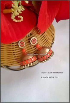 Terracotta Jhumkas