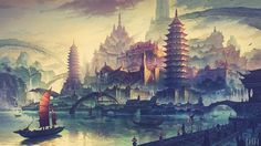 Asian Fantasy World