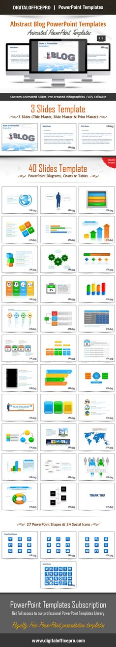 Internet World PowerPoint Template Backgrounds World, Shape and - 3d powerpoint template