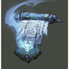 Cool looking scroll from darksiders - Fantasy Book Anime Weapons, Fantasy Weapons, Fantasy Rpg, Medieval Fantasy, Fantasy Books, Fantasy World, Dnd Dragons, Dungeons And Dragons, Magic Book