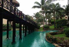Catalonia Riviera Maya Resort, the grounds are just lovely!   Cancun Canuck blog @Félix Román Herrera Catalonia