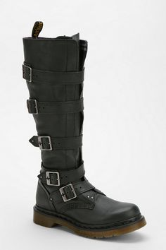 Carol's boots from The Walking Dead - Doc Martens Phina Buckle-Strap Boot