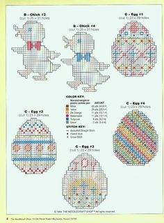 Easter Ornaments Pg 4