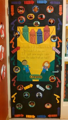 Preschool Black History Month door