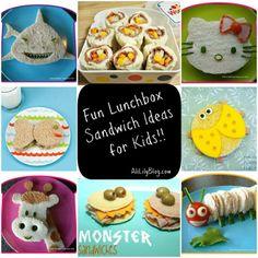 lunch ideas for kids   Fun Lunch Ideas for Kids   Kids Stuff