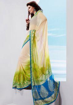 pretty saree & colors