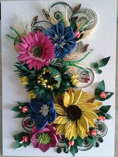 Quilling Branka Miletić!  Such beautiful quilling.