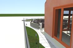 OGRÓD 1 / GARDEN 1 Garage Doors, Sidewalk, Outdoor Decor, Home Decor, Decoration Home, Room Decor, Side Walkway, Walkway, Home Interior Design