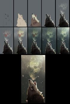 Wolf: step by step - Tutorial by Zowato