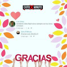 No hay nada mejor que alguien te de las gracias por ayudarlo :) Mientras más gracias te dan más impacto causas excelente.