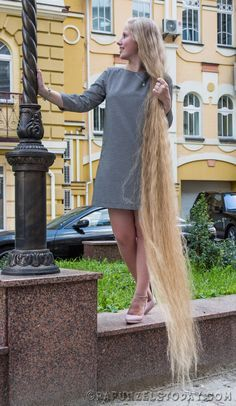 Rapunzels Today is a media project to promote long female hair worldwide