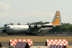 Indonesian Lockheed C-130 Hercules.