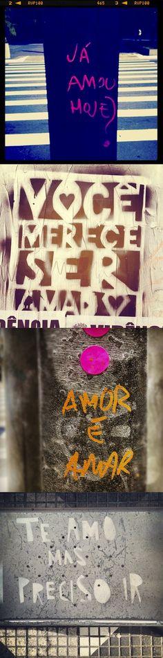 As Ruas Falam de Amor | InspirationPage
