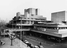 The National Theatre, South Bank, London SE1.