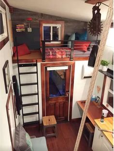 One of the things people looking into downsizing complain the most about is that tiny homes don't really provide a nice living space. Well, these examples are gonna prove that complaint to be totally wrong.