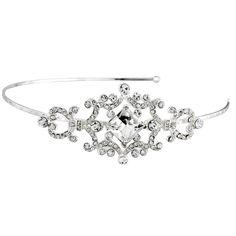 Crystal Brooch Bridal Headband
