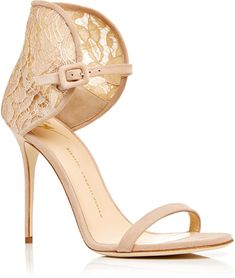 Giuseppe Zanotti Mistico Calf Leather Sandals with Lace Heel. Shop From Blog www.zipporahaanael.com #SexyCulturedCaring #ReadShopGiveBack