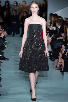 Oscar de la Renta Fall 2016 Ready-to-Wear Fashion Show - Chiara Mazzoleni