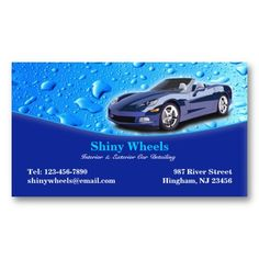 30 best auto detailing business cards images on pinterest auto auto detailing business card colourmoves