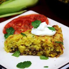 Beefy Mexican Cornbread -