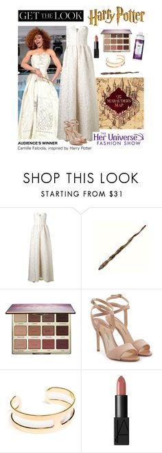 """""""Get the Look: Her Universe Fashion Show, Audience Winner"""" by polyvore-editorial ❤ liked on Polyvore featuring Alice + Olivia, Ash, tarte, Paul Andrew, Janna Conner, NARS Cosmetics, R+Co, comiccon, HerUniverse and SDCC"""