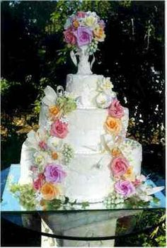 Very Memorable Wedding Cake~
