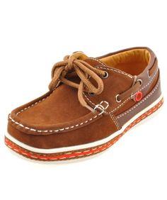 """Lil Fellas Boys """"Dock Walk"""" Boat Shoes"""