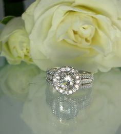So beautiful!!!!! I love it! Brilliant Antique style Herkimer Diamond and White by greengem, $425.00