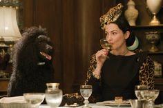 Julie Dreyfus in a cat hat