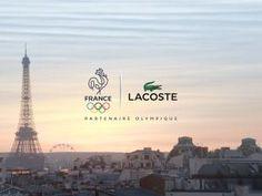 Lacoste présente les tenues officielles de la délégation française aux Jeux Olympique et... • Hellocoton.fr