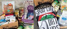 "Our Birthday Giveaway (Worth Over $650)! <p><a href=""http://miyokoskitchen.com/products-miyoko/"" target=""_blank"" data-bypass=""true"">$50 to Miyoko's Kitchen (  Swag</a>) •"