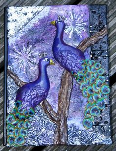 Peacock Journal by Art by Naila