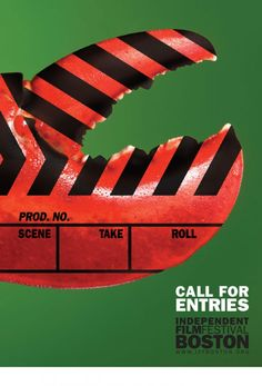 Direct Mail postcard for the Independent Film Festival of Boston