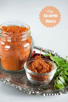 Kolhapuri masala is masala mix used in making spicy Kolhapuri style dishes which are known for the characteristic heat of spicy chilli. There are two types of K Veg Recipes, Indian Food Recipes, Cooking Recipes, Smoker Recipes, Milk Recipes, Sauce Recipes, Cooking Tips, Recipies, Masala Powder Recipe