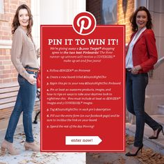 Enter our #DaytoNightChic Pinterest contest for the chance to win! Two followers will receive a 1,000 dollar #Target shopping spree and three runner-ups will receive free jeans and a #CoverGirl makeup set. Ends 11/5. Details here: http://on.fb.me/R8CmfE