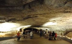 Underground Snowball dining room at Mammoth Cave 1500 Calorie Meal Plan, Mammoth Cave, Snowball, Places Ive Been, Childhood, Dining Room, Tours, Charmed, Memories