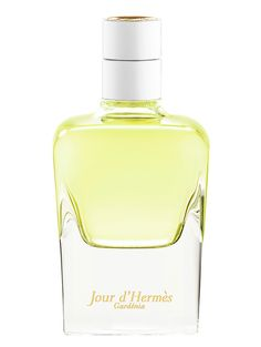New! Hermes-Jour-d-Hermes-Gardenia - a bouquet of gardenias that convey scents of tuberose, rose and jasmine.