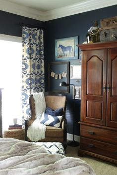 master bedroom tour and makeover story