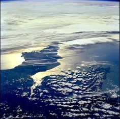 The Confusion Limit — Cornwall from the International Space Station